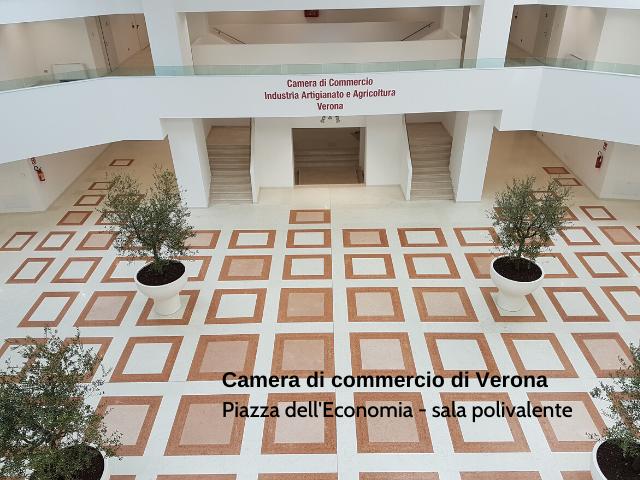 Camera di commerci di Verona - Piazza dell'Economia - spazio polifunzionale