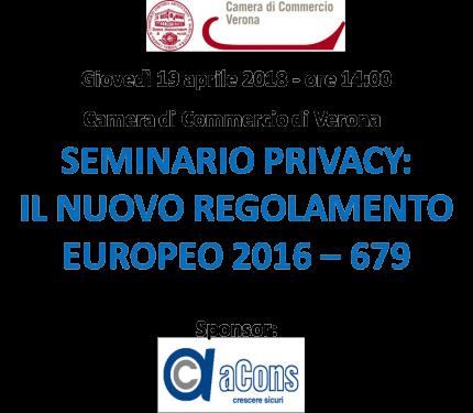 Seminario Privacy