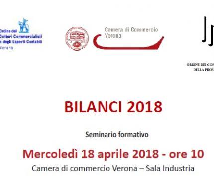 BILANCI 2018 - seminario formativo