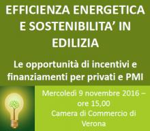 Seminario efficienza energetica