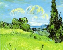 paesaggio Van Gogh