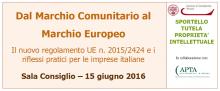 Seminario marchio imprese italiane 2016